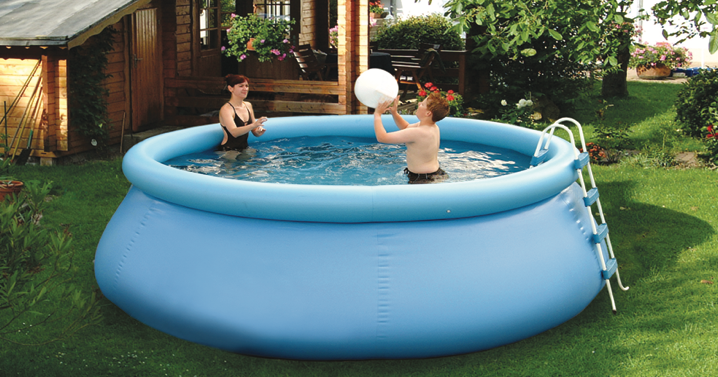 stand up pool 350 x 100cm 11052